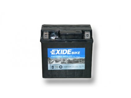 Motobaterie EXIDE BIKE Factory Sealed 4Ah, 12V, AGM12-5 (YTX5L-BS)