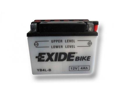 Motobaterie EXIDE BIKE Conventional 4Ah, 12V, YB4L-B