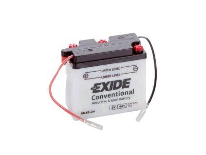 Motobaterie EXIDE BIKE Conventional 4Ah, 6V, 6N4B-2A