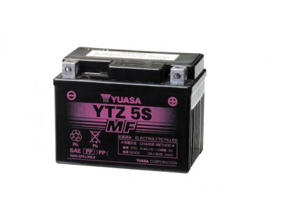 Motobaterie YUASA (originál, factory activated) YTZ5S, 12V,  3,5Ah