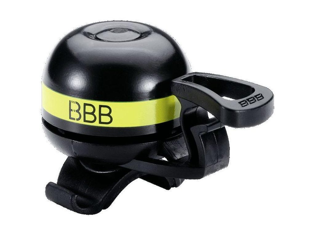 Zvonek BBB BBB 14 EasyFit Deluxe žlutý