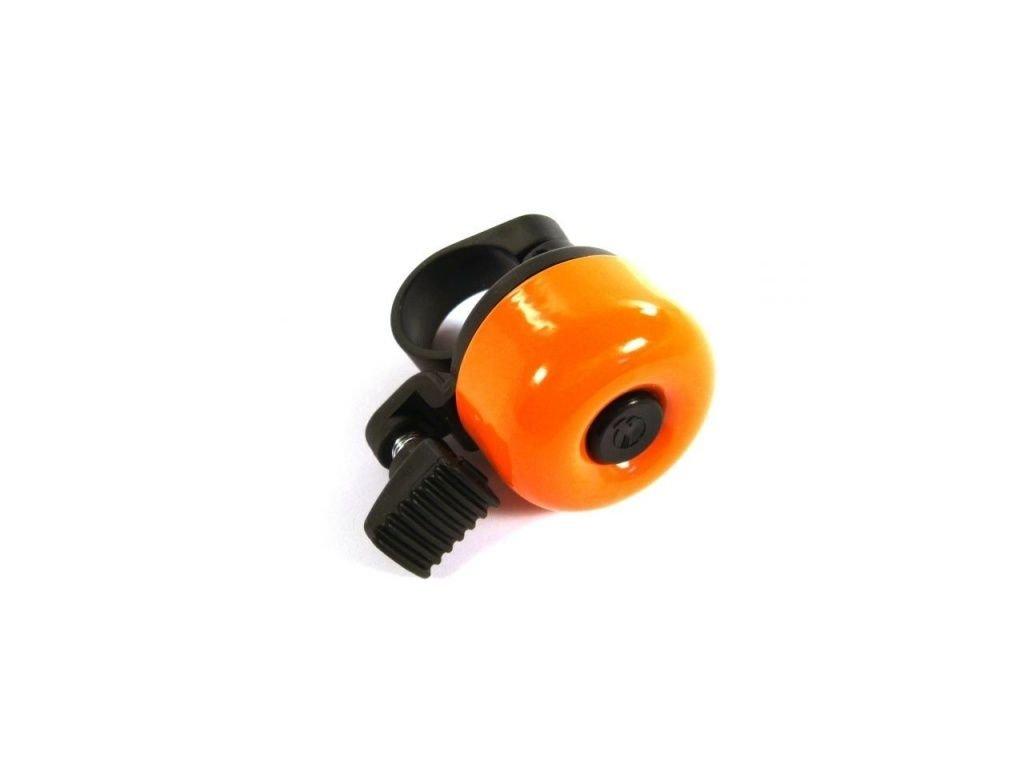 Smaltovaný zvonek oranžový