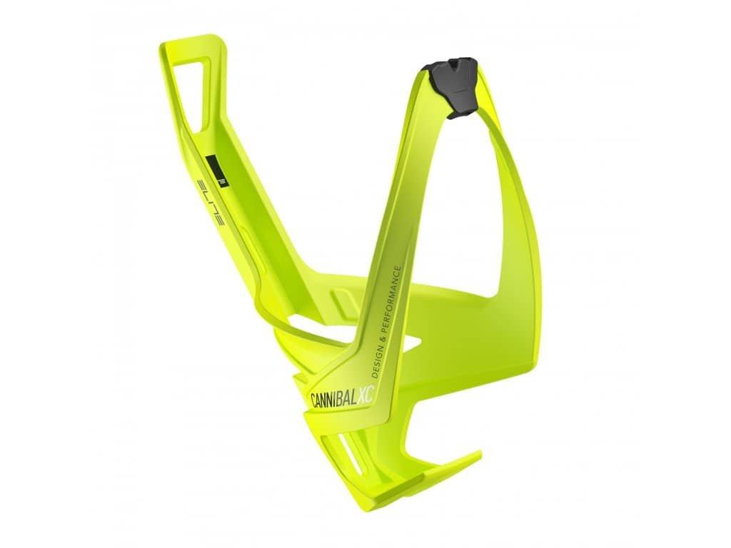 Košík na láhev Elite Cannibal XC - žlutý FLUO