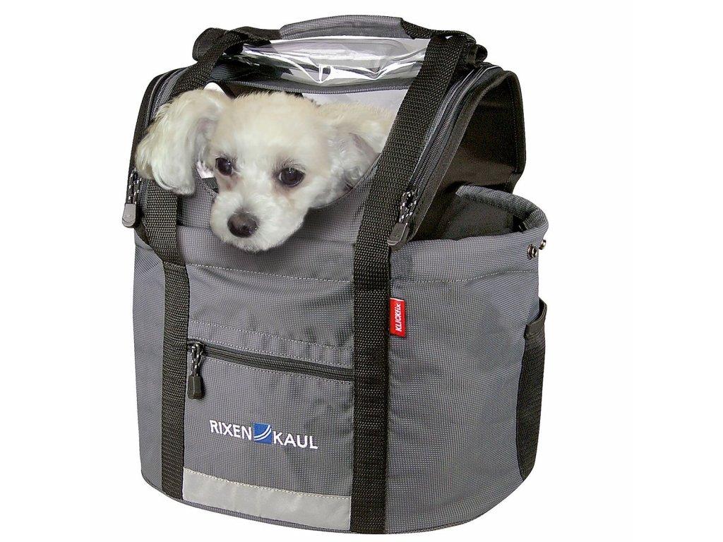 Taška na psa na kolo KlickFix Doggy