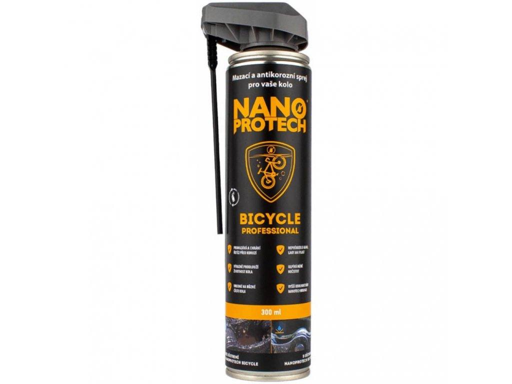 olej NANOPROTECH Bicycle spray na řetězy 300ml