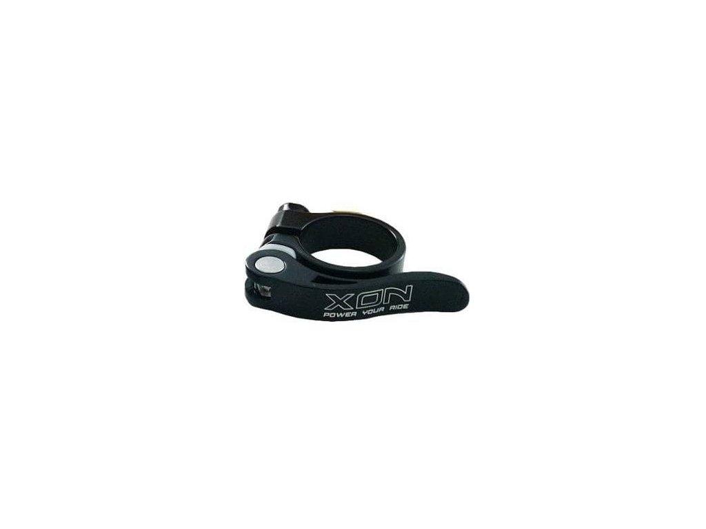 XON objímka sedlovky XSC 08 rychloupínák průměr 34,9 černá