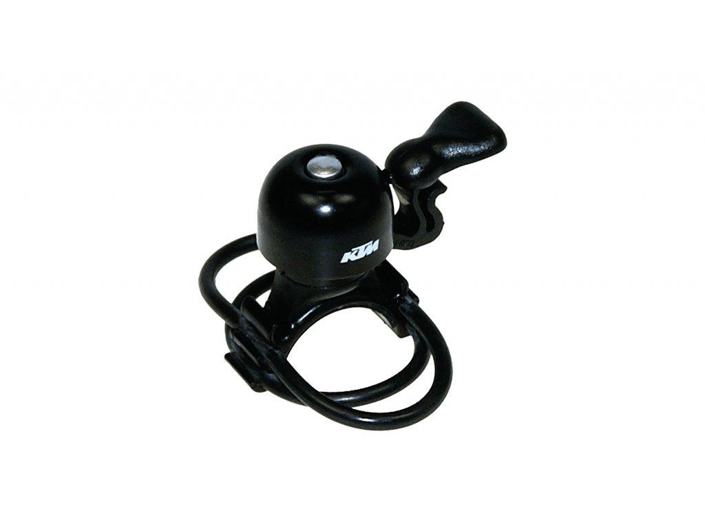 KTM mini zvoneček, UNI, gumičky, černý