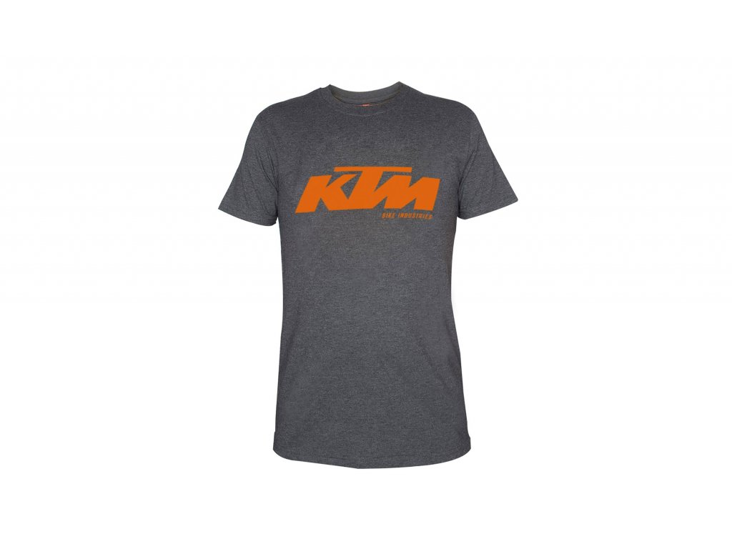 Tričko KTM Factory Team 2021 Grey/orange