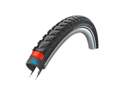 Schwalbe plášť Marathon GT365 50-622 DualGuard černá+reflexní pruh