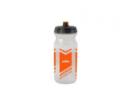 KTM lahev Team transparentní