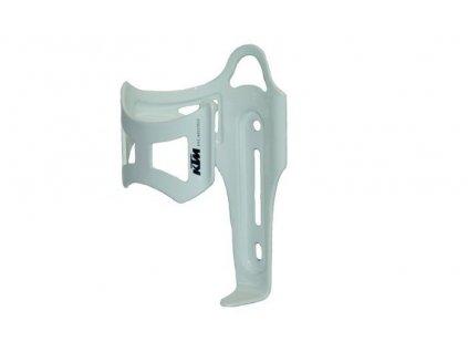 KTM košík na pití boční bílý lesklý