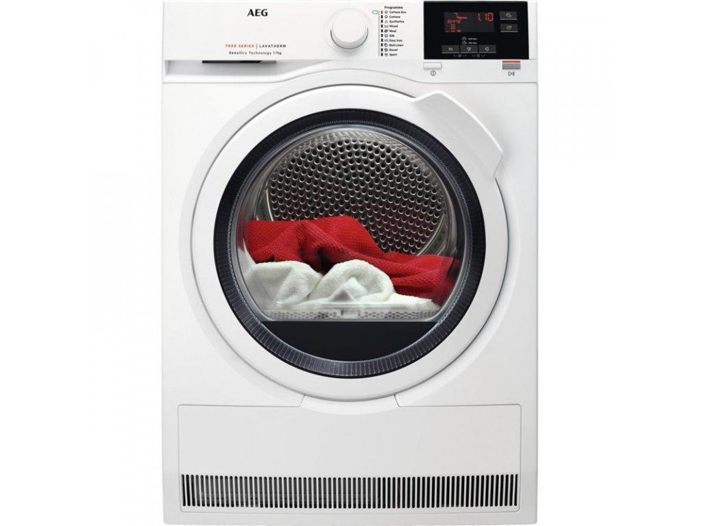 Sušička prádla AEG SensiDry® T7DEG47W