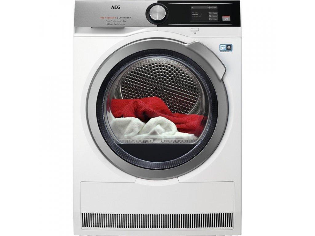 Sušička prádla AEG FiberPro T9DBA68SC 3DScan