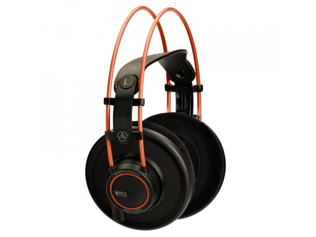 Sluchátka AKG K712PRO - černá/oranžová