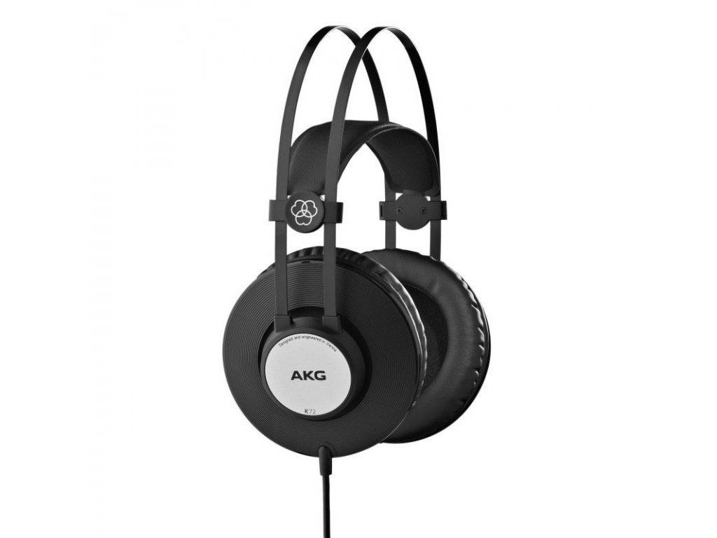 Sluchátka AKG K72 - černá