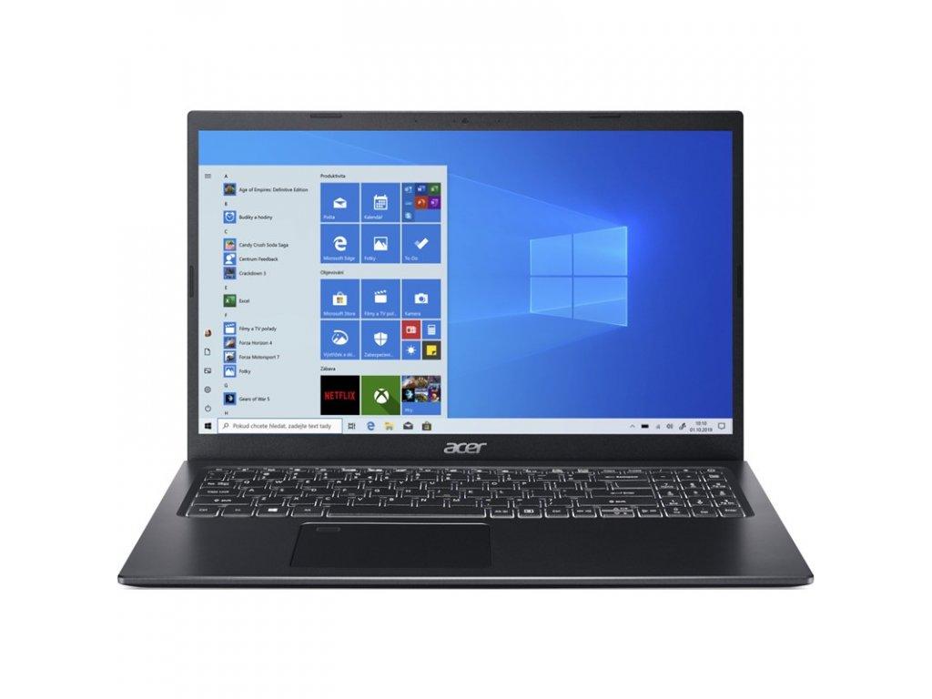 "Ntb Acer Aspire 5 (A515-56-576Q) i5-1135G7, 8GB, 1024 GB, 15.6"", Full HD, bez mechaniky, Intel Iris Xe, BT, FPR, CAM, W10 Home - černý"