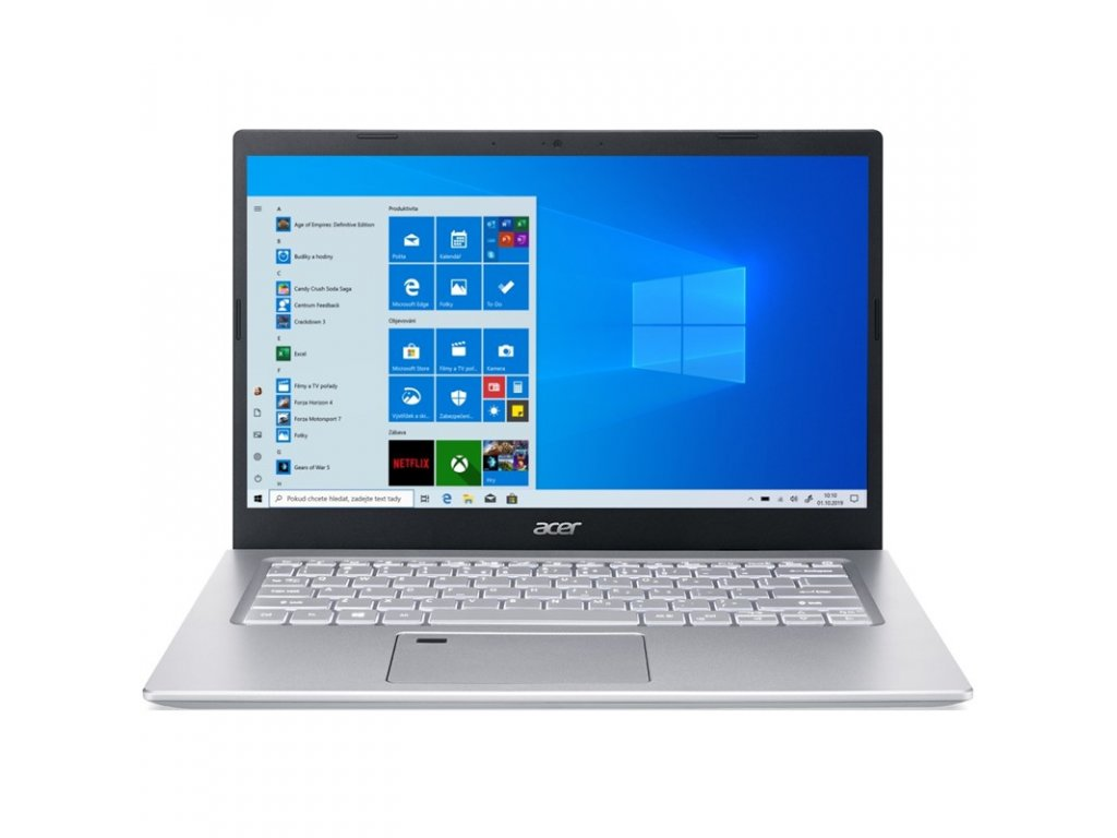 "Ntb Acer Aspire 5 (A514-54-3520) i3-1115G4, 8GB, 256GB, 14"", Full HD, bez mechaniky, Intel UHD Graphics, BT, FPR, CAM, W10 Home - růžový"