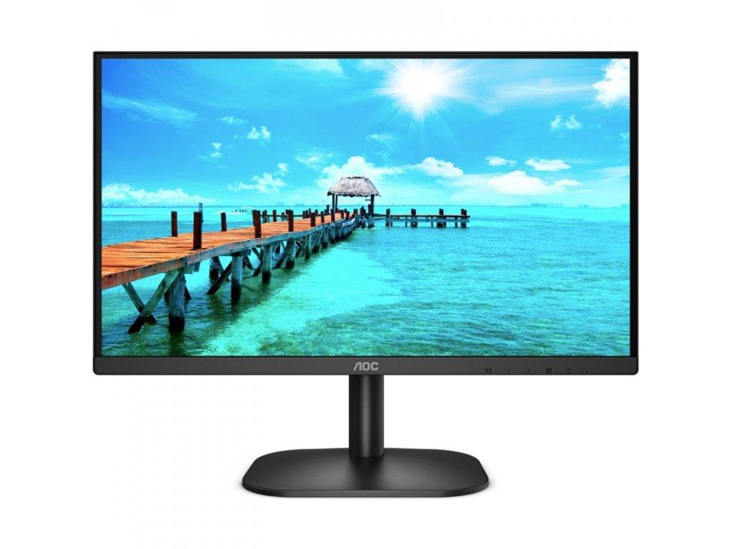 """Monitor AOC 24B2XDAM 23.8"""",LED, VA, 4ms, 3000:1, 250cd/m2, 1920 x 1080, - černý"""