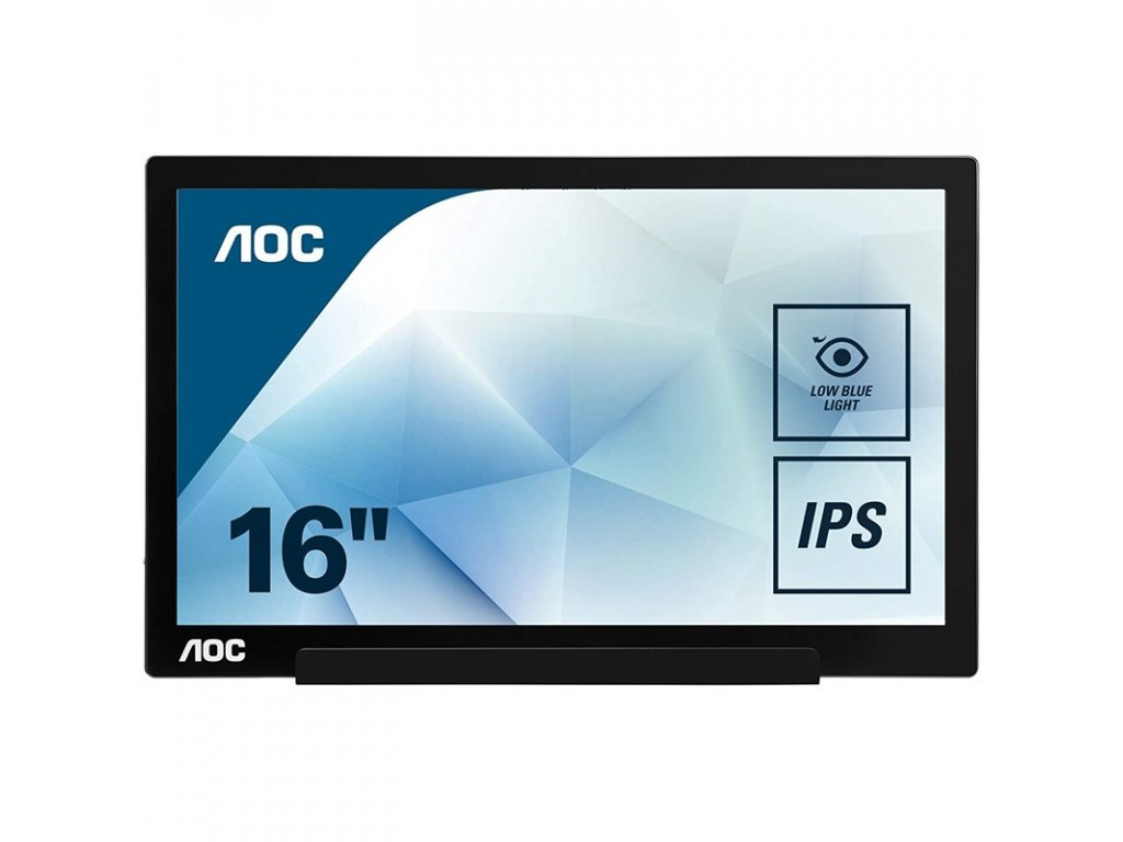 "Monitor AOC I1601FWUX 15.6"",LED, IPS, 5ms, 700:1, 220cd/m2, 1920 x 1080,"