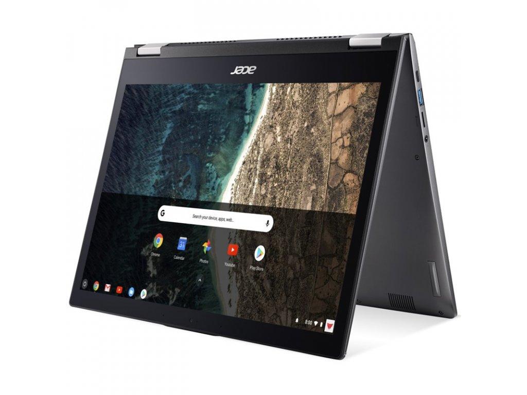 "Ntb Acer Chromebook Spin 13 (CP713-2W-34CU) i3-10110U, 8GB, 256GB, 13,5"", 2256 x 1504, bez mechaniky, Intel UHD Graphics, BT, CAM, Chrome OS - šedý"