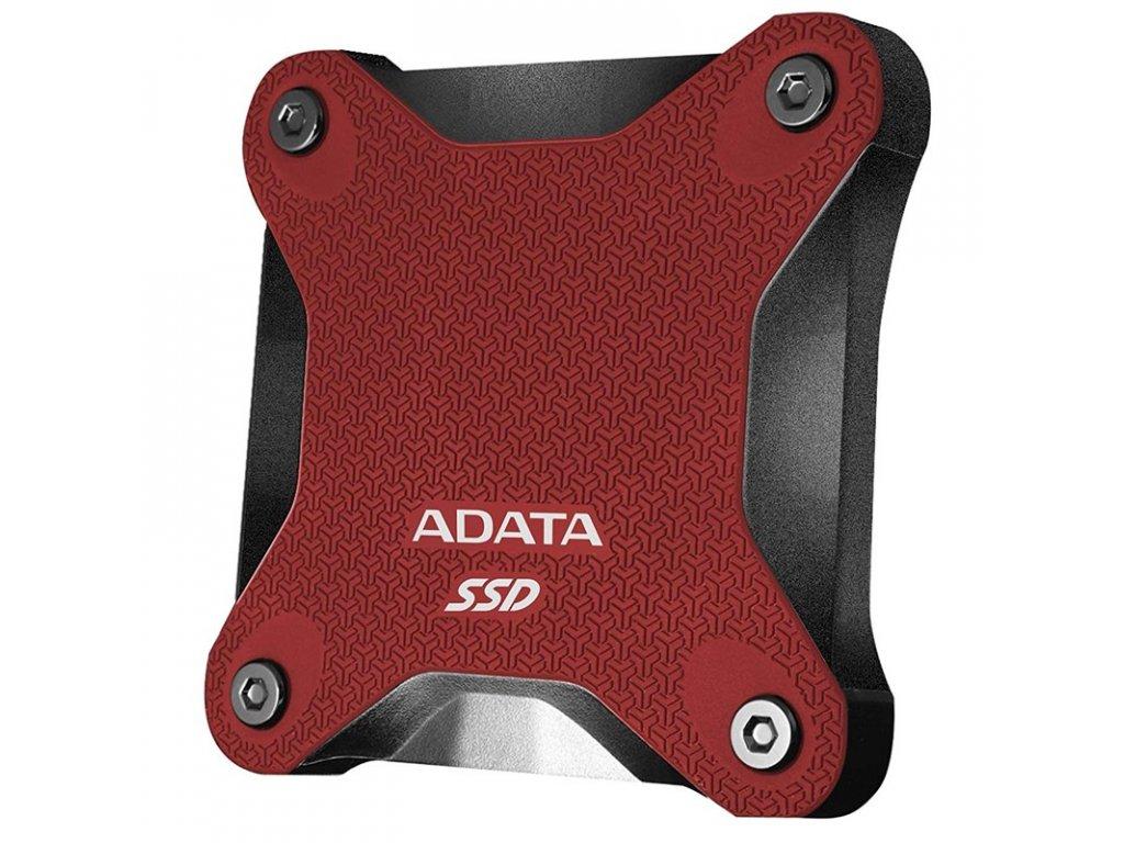 SSD externí ADATA SD600Q 240GB - červený