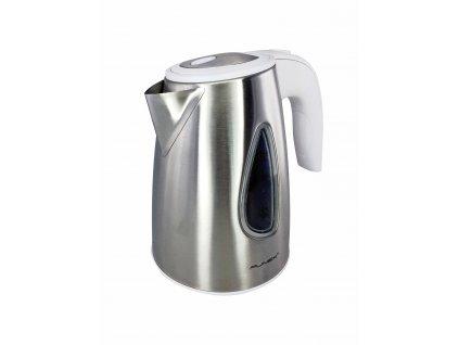 Rychlovarná konvice - nerez, bílé madlo - Punex WSK6101, 1l