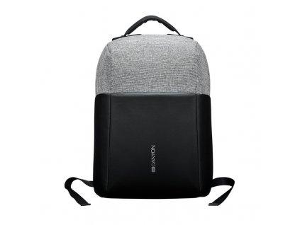 """Batoh na notebook Canyon Anti-theft pro 15.6"""", integrované USB - černý/šedý"""