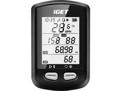 Cyklopočítač s GPS iGET C200
