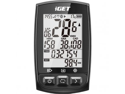 Cyklopočítač s GPS iGET C210