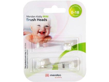 Náhradní kartáček k MERIDEN Kiddy MS100 K nebo P pro děti 0-18 měsíců