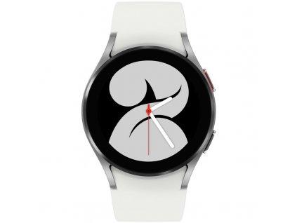 Chytré hodinky Samsung Galaxy Watch4 40mm - stříbrné