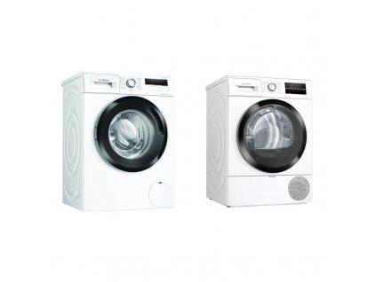 Set Bosch pračka WAN28160BY + sušička WTR87TW2CS