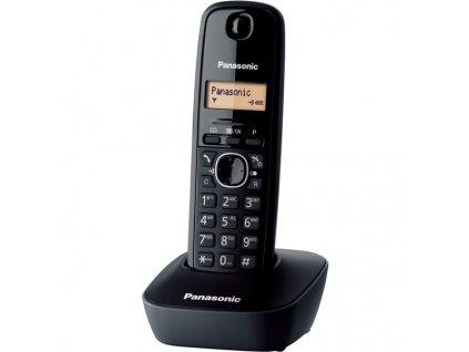 Domácí telefon Panasonic KX TG1611FXH DECT - černý