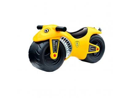 Hračka G21 Motorka BIKE žlutá