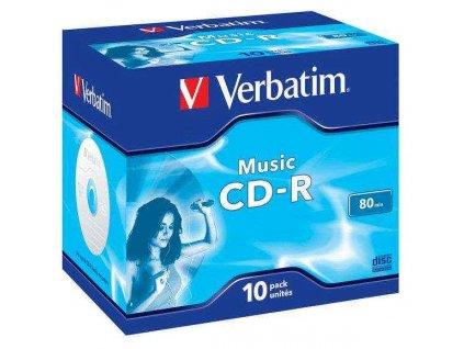 Disk Verbatim CD-R 700MB/80 min. AUDIO LIVE IT!, 10ks