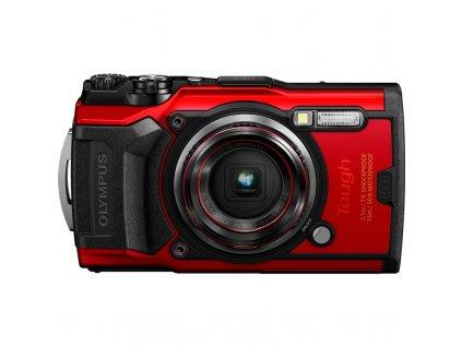 Fotoaparát Olympus TG-6, červený