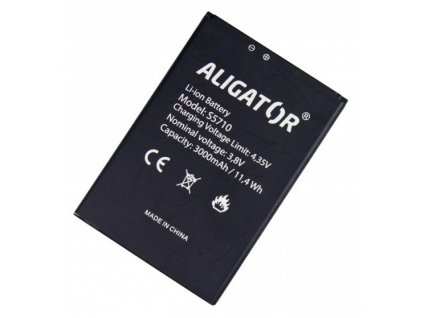 Baterie Aligator ALIGATOR S5710 Duo, Li-Ion 3000mAh