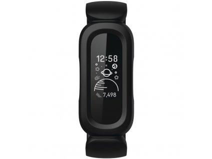 Fitness náramek Fitbit Ace 3 - černý/červený