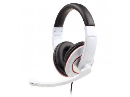 Headset Gembird MHS-001 Gaming - bílý
