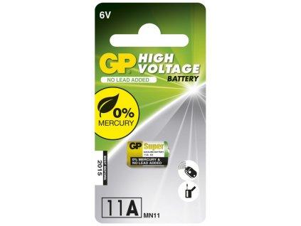 Baterie alkalická GP 11A, blistr 1ks