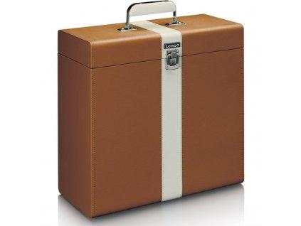 Kufřík Lenco TTA-301 na gramofonové desky - hnědý