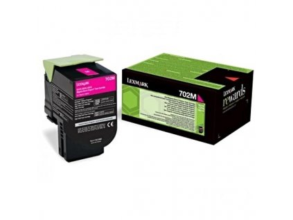 Toner Lexmark 70C20M0, 1000 stran, pro CS510de, CS410dn, CS310dn, CS310n, CS410n - magenta