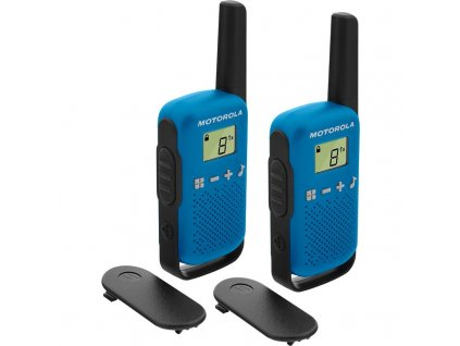 Vysílačky Motorola TLKR T42 - modrý