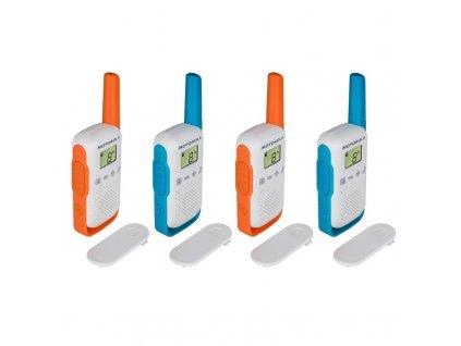 Vysílačky Motorola TLKR T42 - Quad Pack