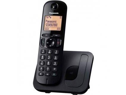 Domácí telefon Panasonic KX-TGC210FXB - černý