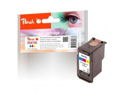Inkoustová náplň Peach Canon CL-541XL, 400 stran, kompatibilní - CMY