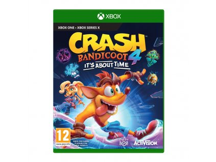 Hra Activision Xbox One Crash Bandicoot 4: It's About Time