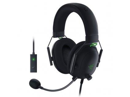Headset Razer Blackshark V2 + USB Mic Enhancer - černý