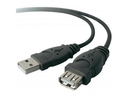 Kabel Belkin USB, 3m, prodlužovací - černý