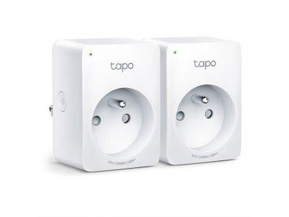Chytrá zásuvka TP-Link Tapo P100, 2ks - bílá